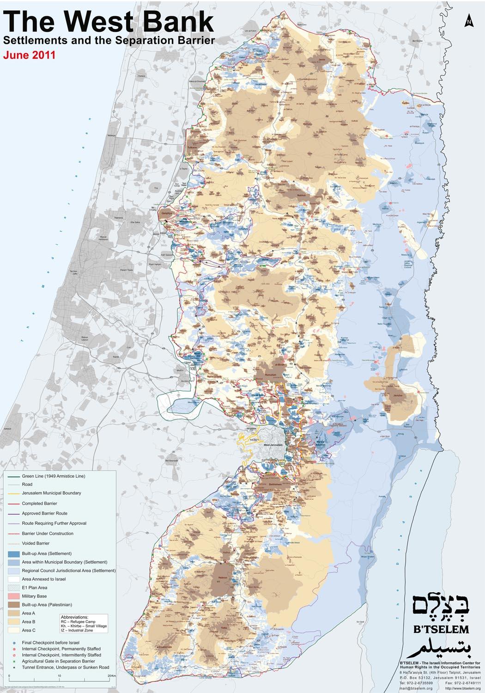 Zur zeit für jesu kinder israel landkarte Karte: Israel